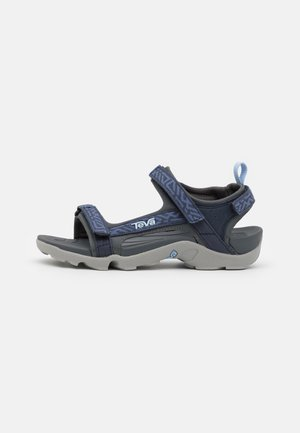 TANZA UNISEX - Walking sandals - griffith total eclipse