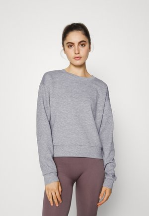 ONPLOUNGE O-NECK  - Sweatshirt - light grey melange