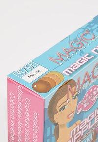 MAGIC Bodyfashion - MAGIC NIPPLES - Reggiseno con spalline regolabili - mocha - 2