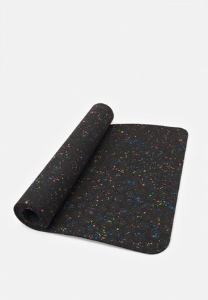 FLOW YOGA MAT 4 MM - Fitness/jóga - black