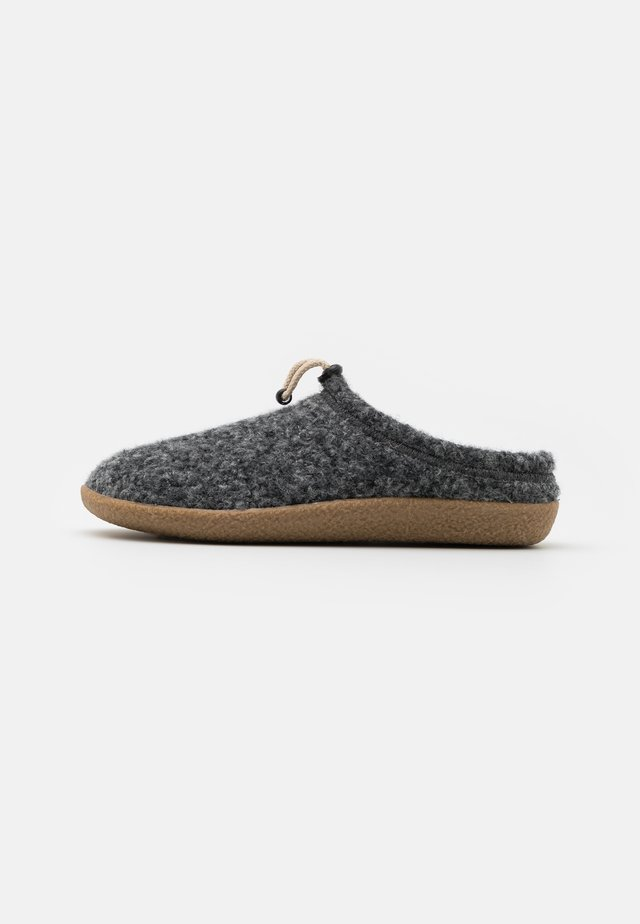 PATRIK - Slippers - antrazit