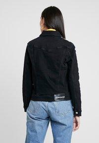 Calvin Klein Jeans - FOUNDATION TRUCKER - Džínová bunda - horizon grey split - 2