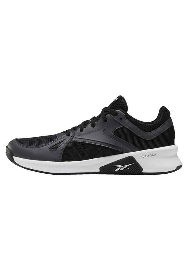 ADVANCED TRAINER SHOES - Baskets basses - black