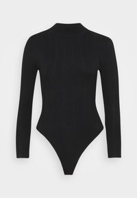 Missguided Petite - EXTREME HIGH NECK BODY - Body - black - 5