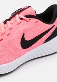 Nike Performance - REVOLUTION 5 UNISEX - Neutral running shoes - sunset pulse/black/white - 5
