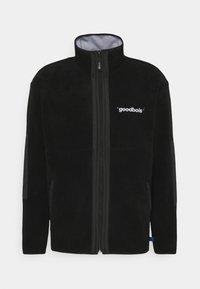 GOODBOIS - OFFICIAL FULLZIP JACKET - Fleecová bunda - black - 0