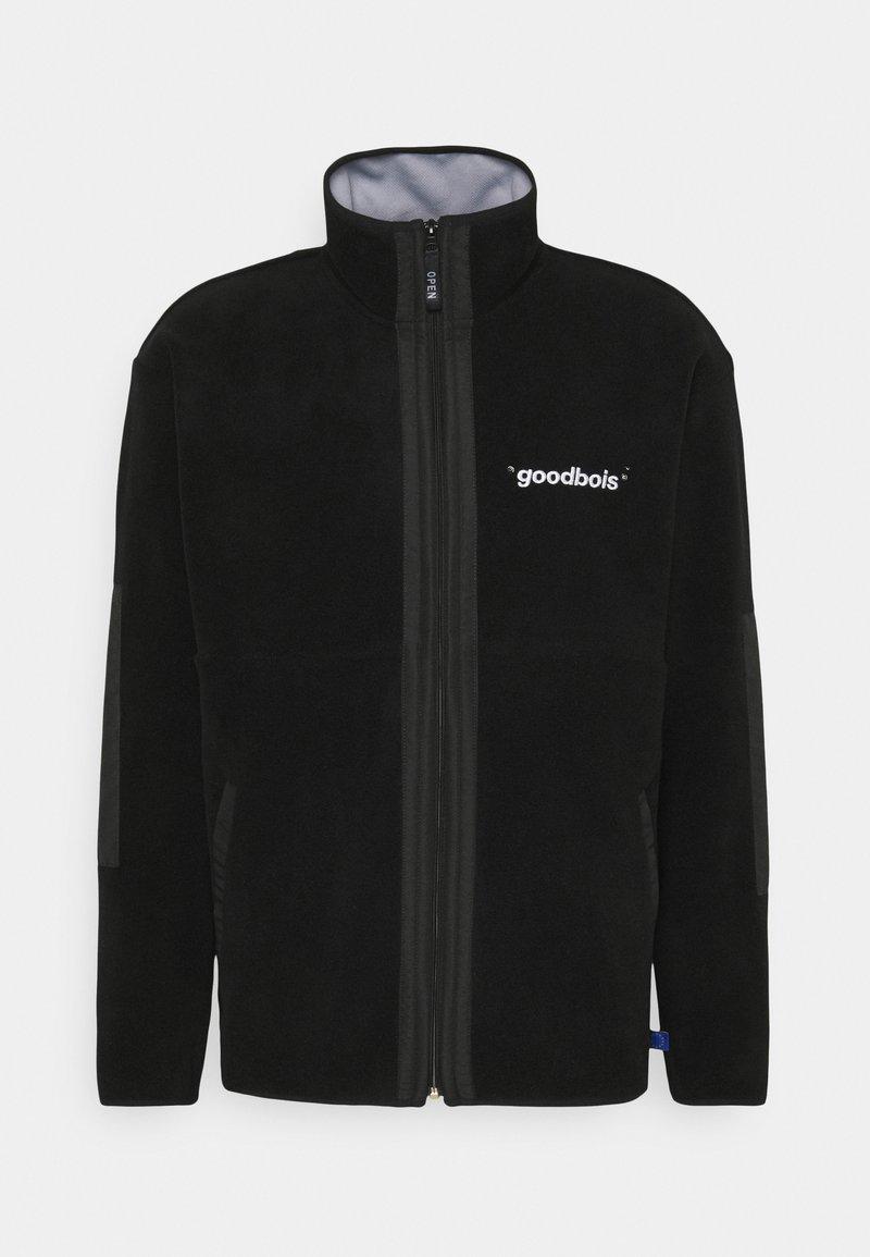 GOODBOIS - OFFICIAL FULLZIP JACKET - Fleecová bunda - black