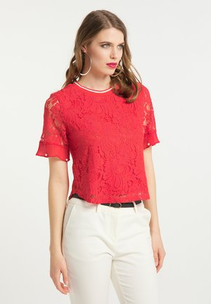 Blouse - rot