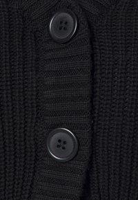 Even&Odd - CROPPED CARDIGAN - Cardigan - black - 2