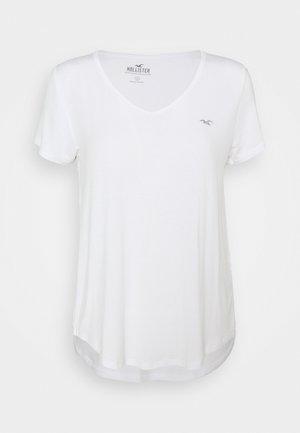 ICON EASY VEE - Camiseta básica - white