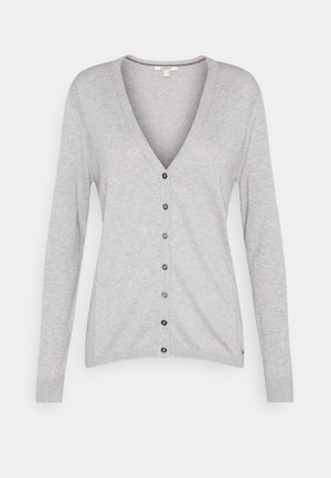 BASIC  - Kardigan - light grey