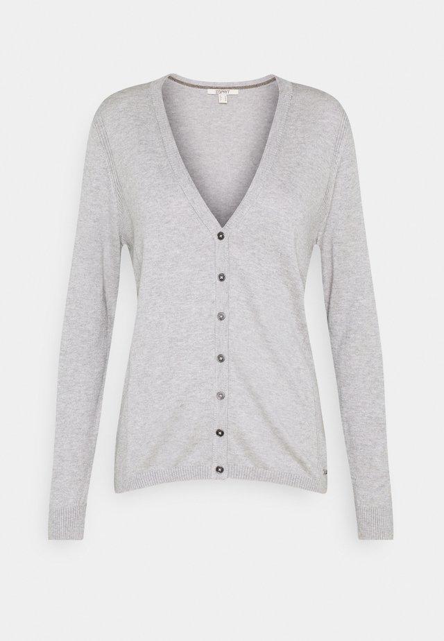 BASIC  - Kardigan - light grey