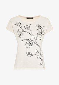 HALLHUBER - Print T-shirt - creme - 2