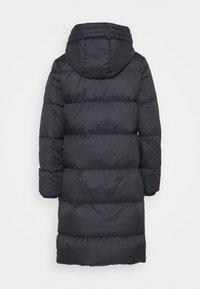 GANT - CLASSIC LONG COAT - Down coat - black - 1