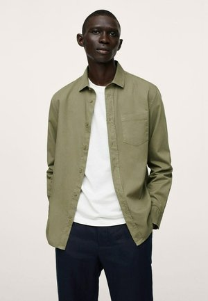 RELAXED-FIT - Camicia - khaki