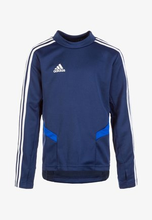 TIRO 19 TRAINING TOP - Koszulka sportowa - dark blue / bold blue / white