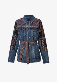 Desigual - ATHLAS PARK - Denim jacket - blue - 5