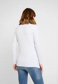 Cotton On - HENLEY SLEEVE - Bluzka z długim rękawem - grey - 2