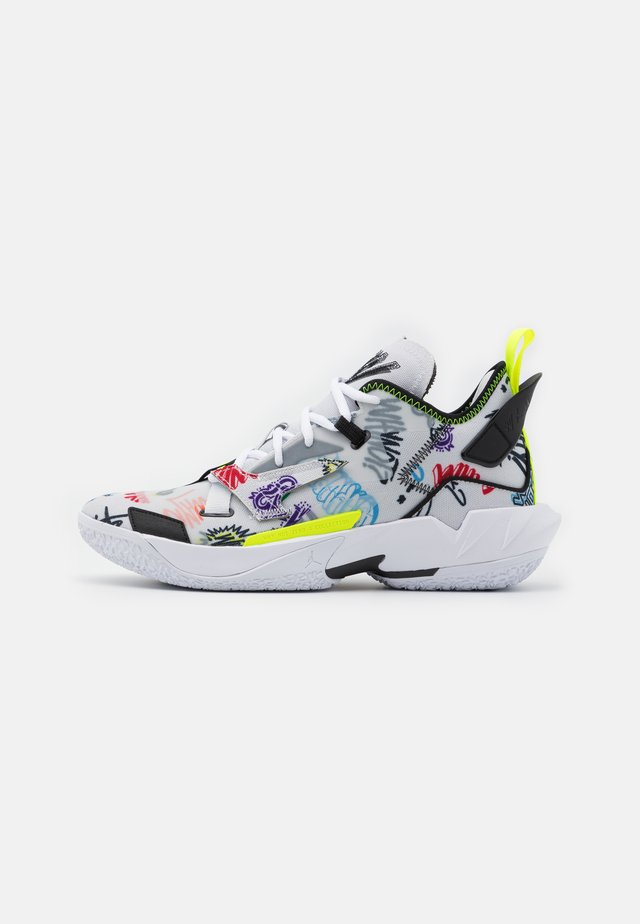 WHY NOT ZER0.4 - Basketbalschoenen - photon dust/black/volt/university red/lucky green/total orange