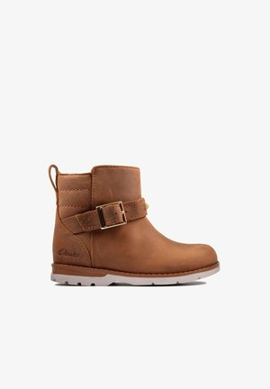 Winter boots - cuir brun