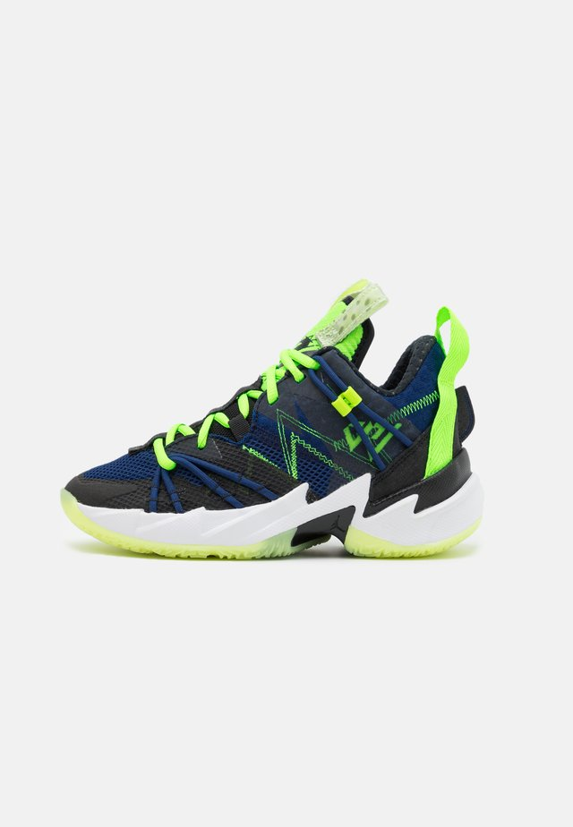 WHY NOT ZER0.3 SE UNISEX - Zapatillas de baloncesto - black/key lime/blue void/summit white/white/barely volt