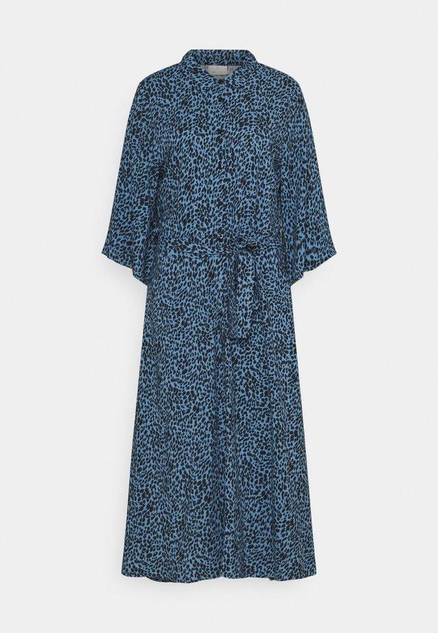 KABARBARA DRESS - Robe longue - quiet harbour/black