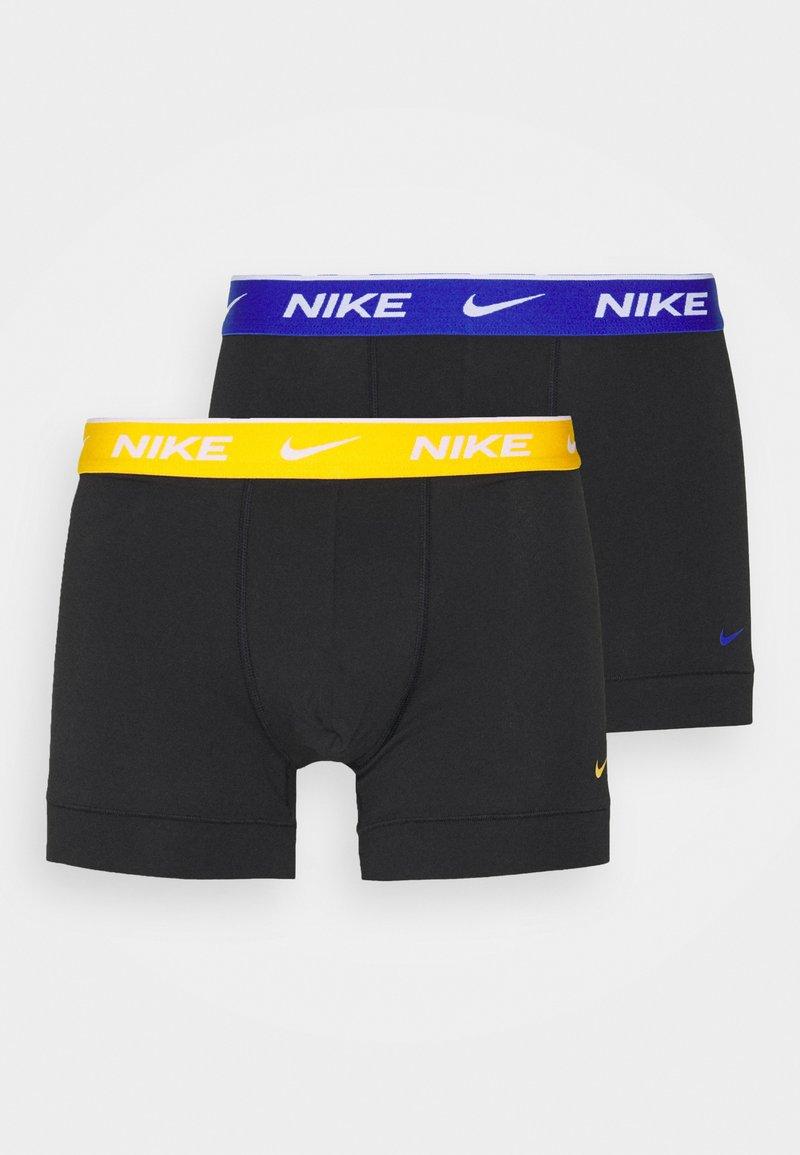 Nike Underwear - DAY STRETCH TRUNK 2 PACK - Boxerky - black/uni gold /hyper royal