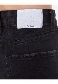 Bershka - Jeans a sigaretta - black - 4
