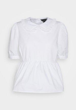 HALLIE COLLAR  - Bluzka - white