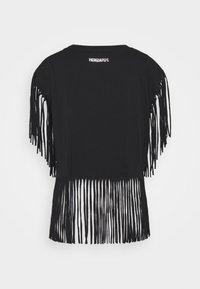 Patrizia Pepe - MAGLIA - Print T-shirt - nero - 1