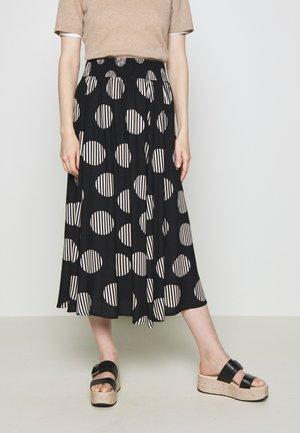 SADIE - A-line skirt - black