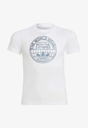 GRAPHIC PRINT T-SHIRT - Print T-shirt - white