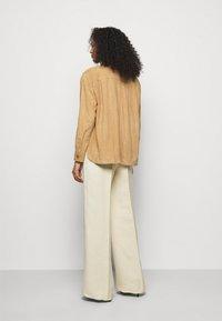 Alberta Ferretti - Kožená bunda - beige - 2