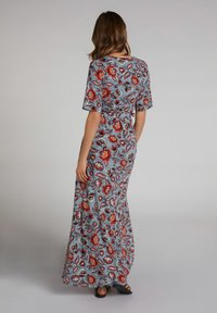 Oui - Maxi dress - turquoise/red - 2