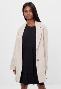 Bershka - Short coat - beige - 0