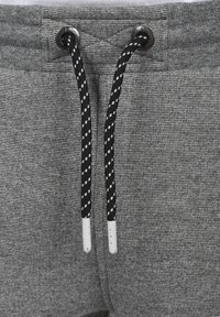 Solid - RAFIK - Shorts - dark grey melange - 5