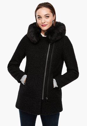 LANGARM - Short coat - black