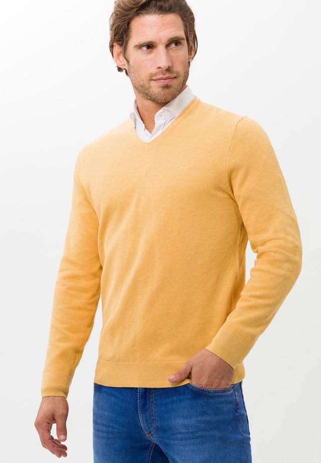 Pullover - iced yellow