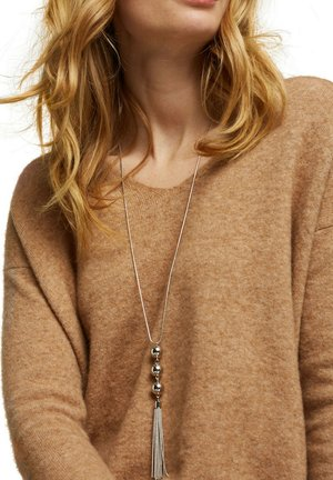 WITH 3 BALL PENDANT - Necklace - silver