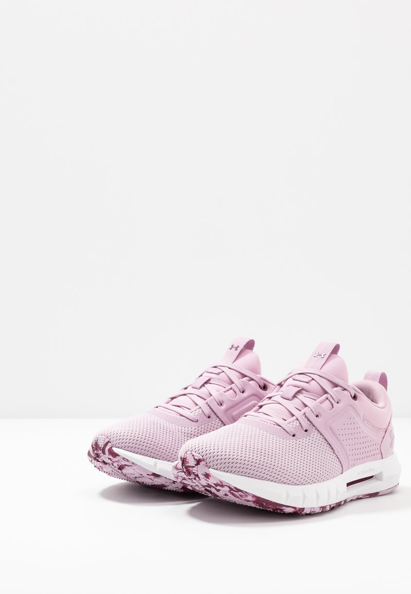 protesta tenga en cuenta ligeramente  Under Armour HOVR CTW - Neutral running shoes - pink fog/white -  Zalando.co.uk