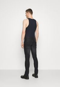 INDICODE JEANS - PITTSBURG - Jeansy Slim Fit - ultra black - 2