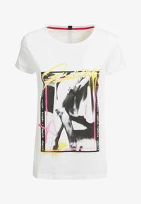 Guess - MONIA - Print T-shirt - weiß - 3