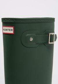Hunter ORIGINAL - ORIGINAL TALL VEGAN - Wellies - Wellies - green - 5