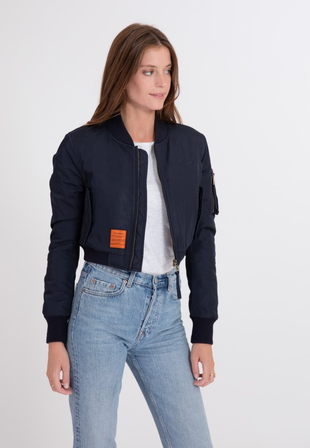 SLASH - Blouson Bomber - navy