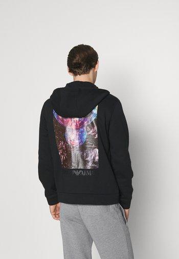 Zip-up sweatshirt - nero