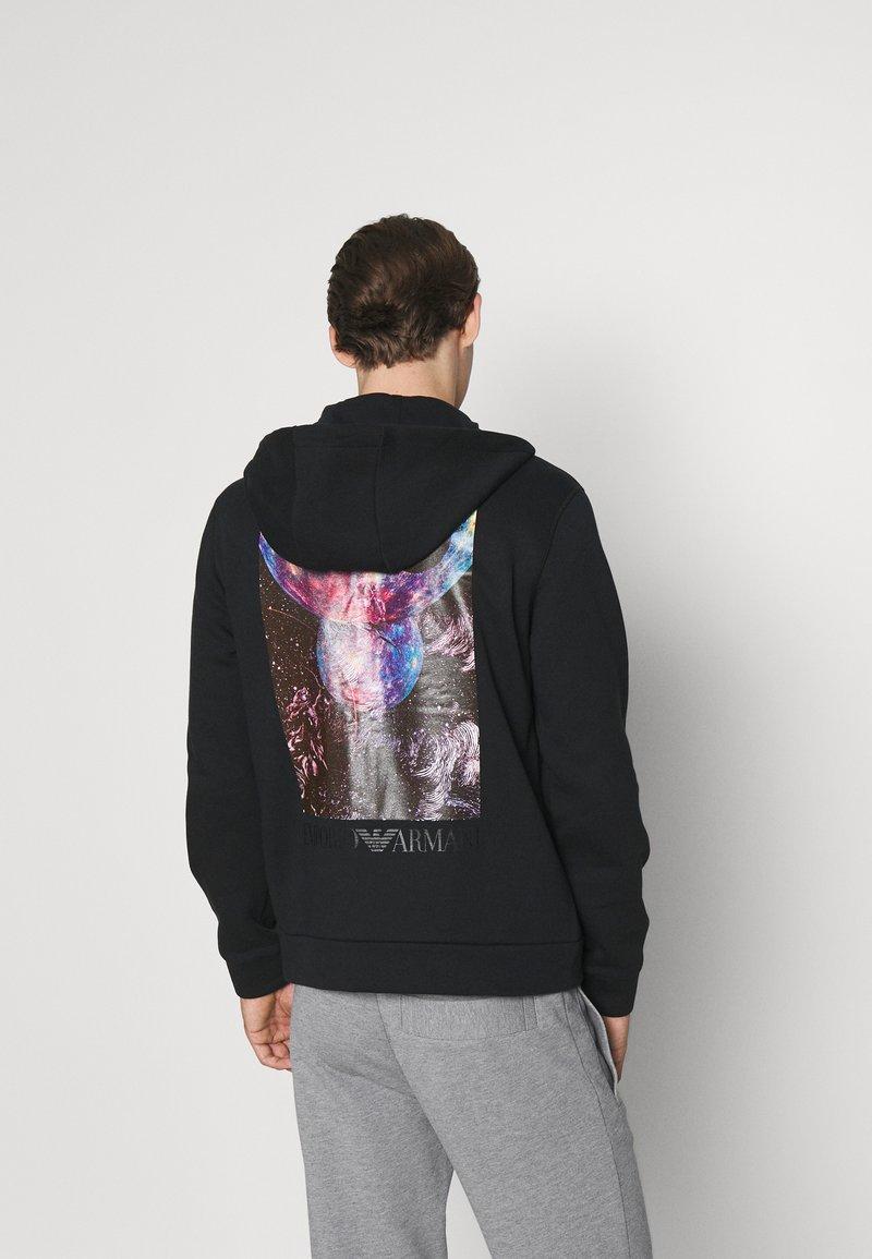 Emporio Armani - Zip-up sweatshirt - nero