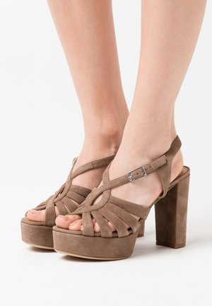 VABEL  - High heeled sandals - taupe