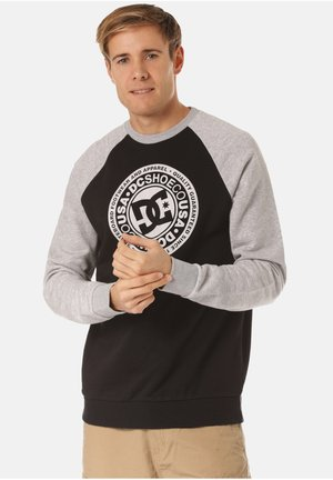 DC SHOES SWEATSHIRT CIRCLE STAR - Sweatshirt - black