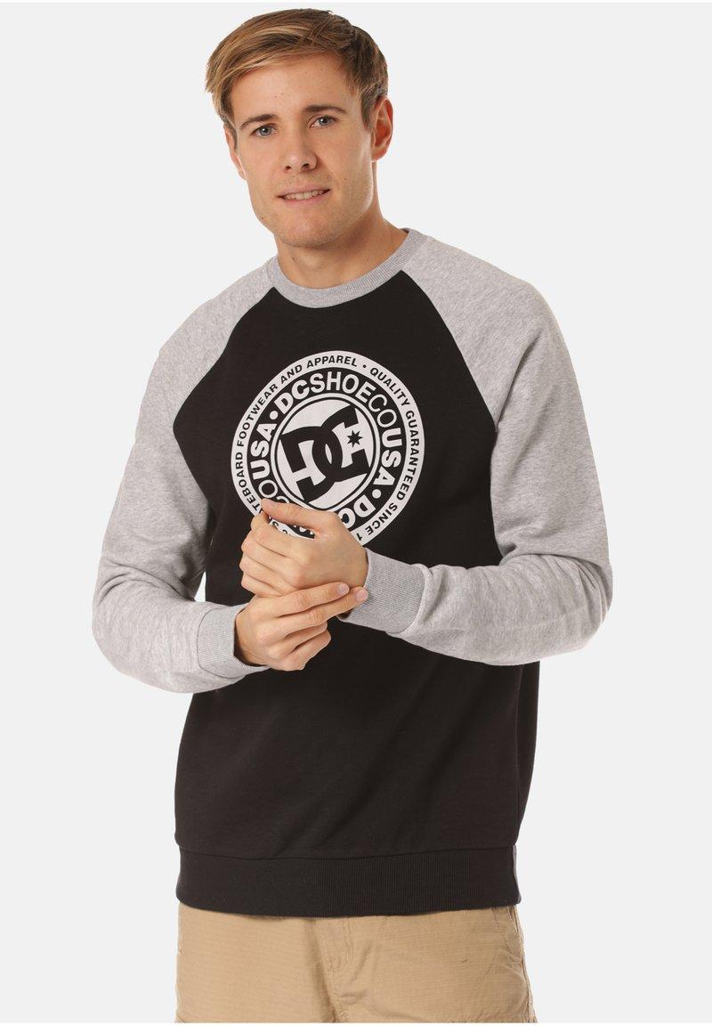 DC Shoes - DC SHOES SWEATSHIRT CIRCLE STAR - Sweatshirt - black