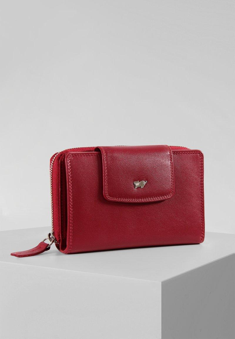 Braun Büffel - GOLF SECURE - Wallet - red